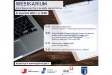 Webinar dla powiatu sępoleńskiego - wsparcie dla Przedsiębiorców