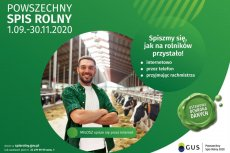 Włączmy się w Powszechny Spis Rolny 2020