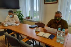 Relacja z prezydium i terminy spotkań komisji stałych - lipiec 2021 r.